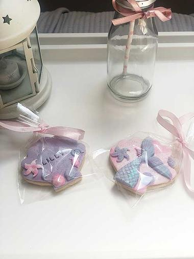 Personalised biscuits for your Children's Sleepover Parties in Hertfordshire